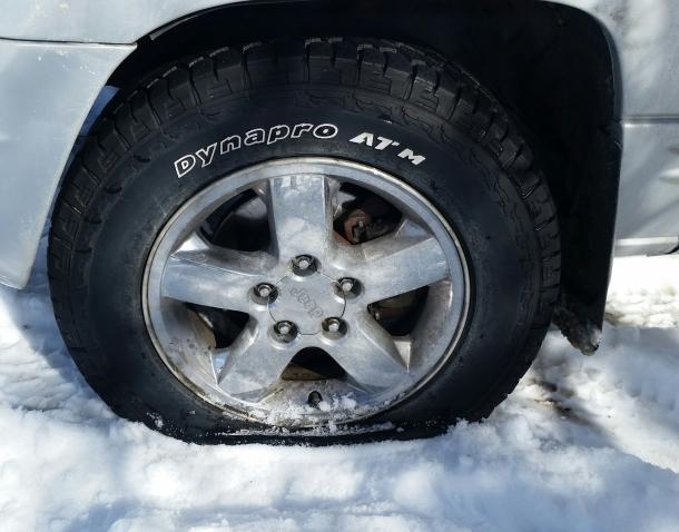 2-15 flat tire